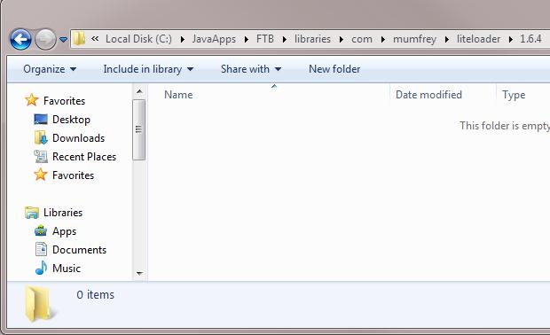 Adding LiteLoader to a FTB modpack Client (1 6 x+)   StickyPiston