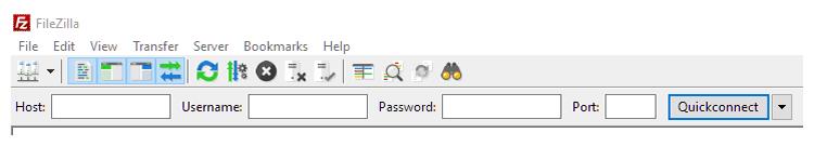 FileZilla QuickConnect