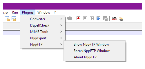 Open FTP Window