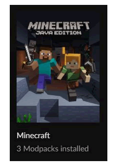 Minecraft Game Selection