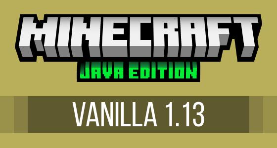 Minecraft Vanilla 1.13 Modpack Server Hosting