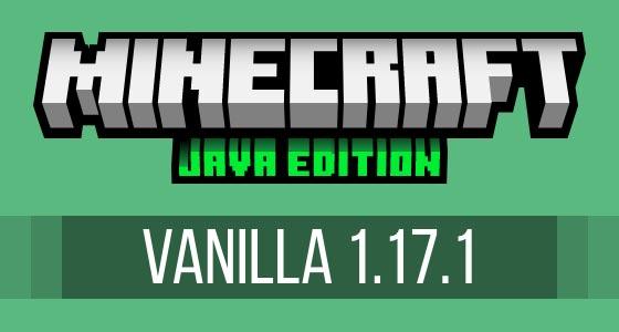 Minecraft Vanilla 1.17.1 Caves & Cliffs Update Server Hosting