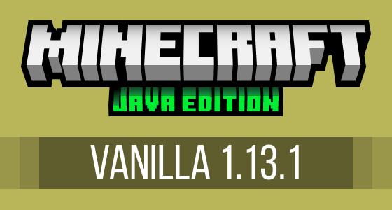 Minecraft Vanilla 1.13.1 Modpack Server Hosting