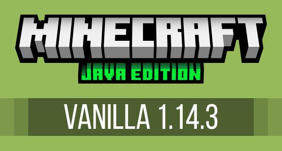 Minecraft Vanilla 1.14.3 Modpack Server Hosting