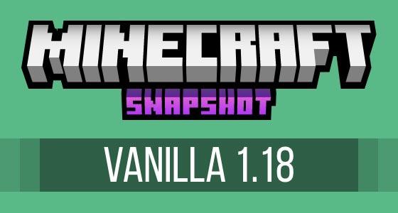 Minecraft 1.18 Snapshot 21w41a Server Hosting