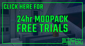 StickyPiston Minecraft Hosting Free Modpack Trials