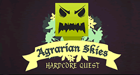 Feed the Beast Agrarian Skies : Hardcore Quest Modpack