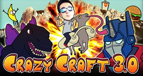 Crazy Craft 3 Modpack Server Hosting