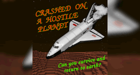Crashed on a hostile planet Server Hosting