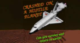 Curse Crashed on a hostile planet Modpack Hosting