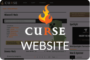 Curse | Twitch Server Hosting | StickyPiston Hosting