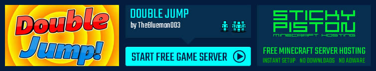 Play Double Jump on a Minecraft map game server