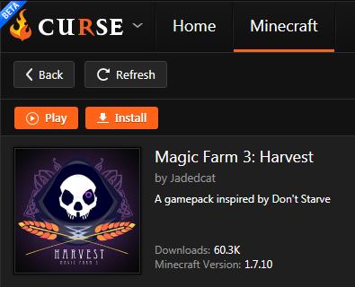 FTB Magic Farm 3 : Harvest Feed Server Hosting Rental