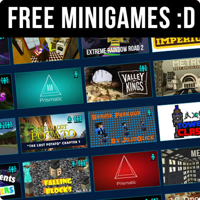 Free Minecraft Minigame Servers
