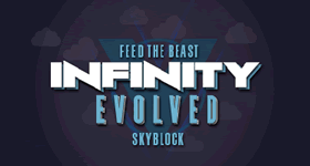 Infinity Evolved SkyBlock Modpack Server Hosting