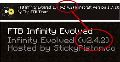 FTB Launcher versions