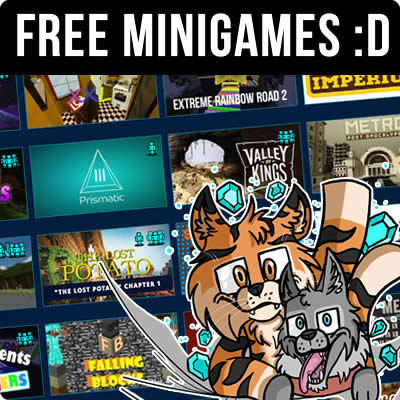 Free Minecraft Minigame Servers