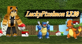 Lucky Pixelmon 3.5.1 (1.7.10) Server Hosting