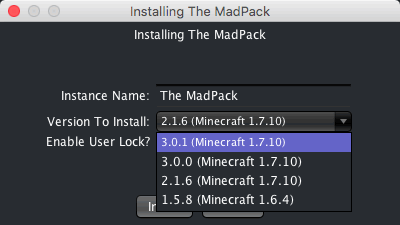 The MadPack 3 Version