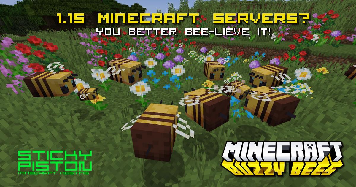 Minecraft 1.15.2 Server Hosting Rental  StickyPiston