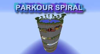 скачать карту Minecraft Parkour Spiral - фото 7