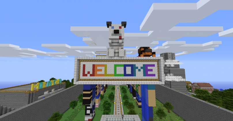 how to add a photo on your mc server