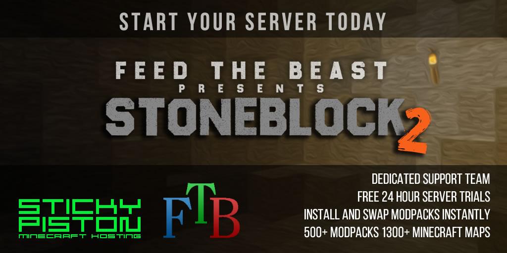 Stoneblock 2 Server Ram